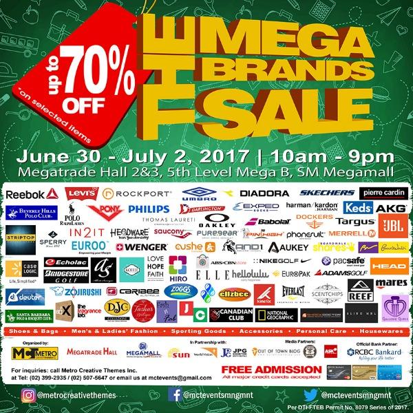 19th MegaBrands Sale Official Poster 2