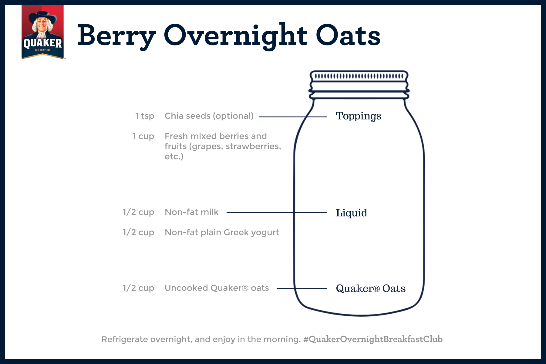 Berry Overnight Oats