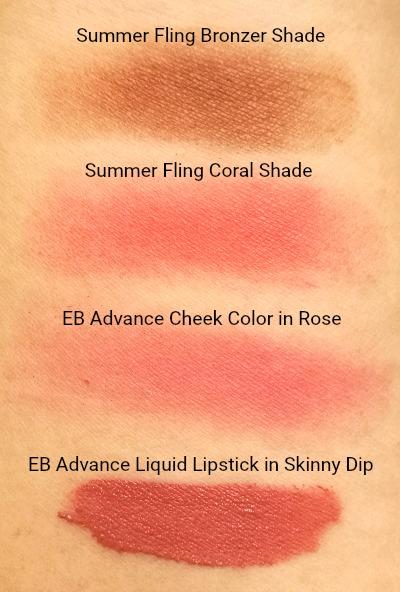Ever Bilena Summer Fling Duo Cheek Color Rose Skinny Dip