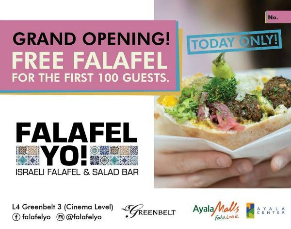 Falafel Yo Grand Opening FREE