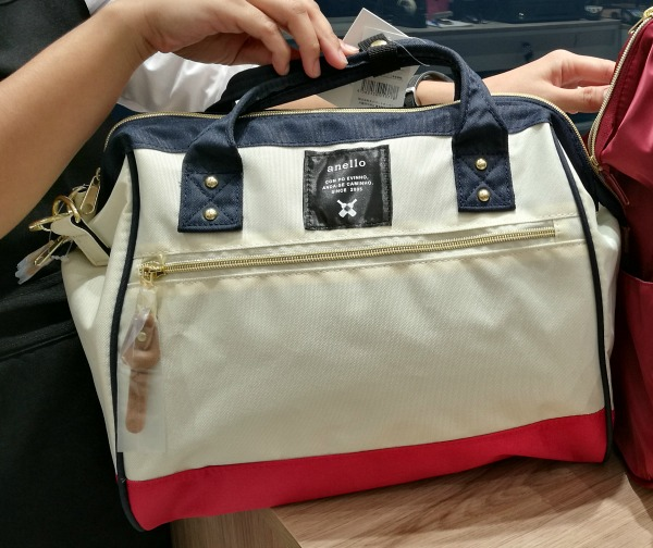 Anello Tricolor Boston Bag