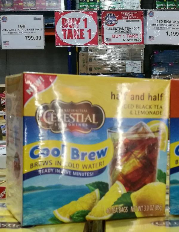 Celestial Seasonings Cold Brew Tea