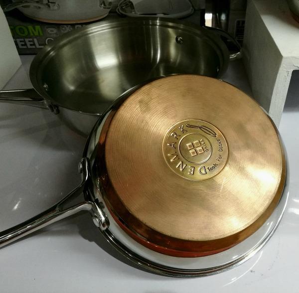 Denmark 13 pc Copper Bottom Cookware Set