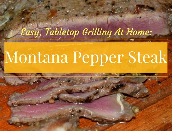 Easy Tabletop Grilled Steak