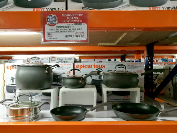 Epicurious 11pc Hard Anodized Cookware Set