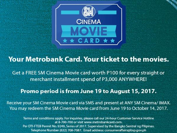 FREE SM Cinema Movie Card Featured Image