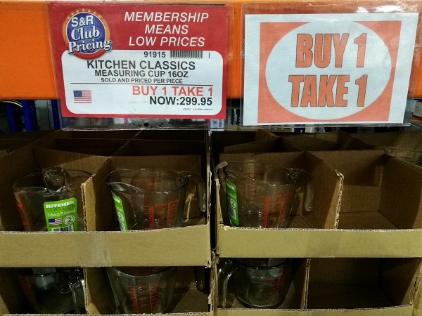 S&R Kitchen Classics Measuring Cup