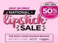 Lazada National Lipstick Sale