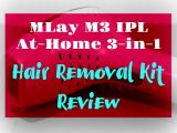 Remove Unwanted Hair At Home – MLay IPL Home Kit Review