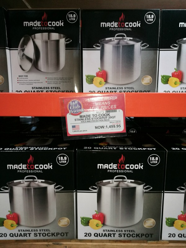 Made to Cook Stainless Steel 20 quart Stockpot