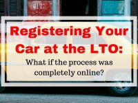 Registering Your Car at the LTO