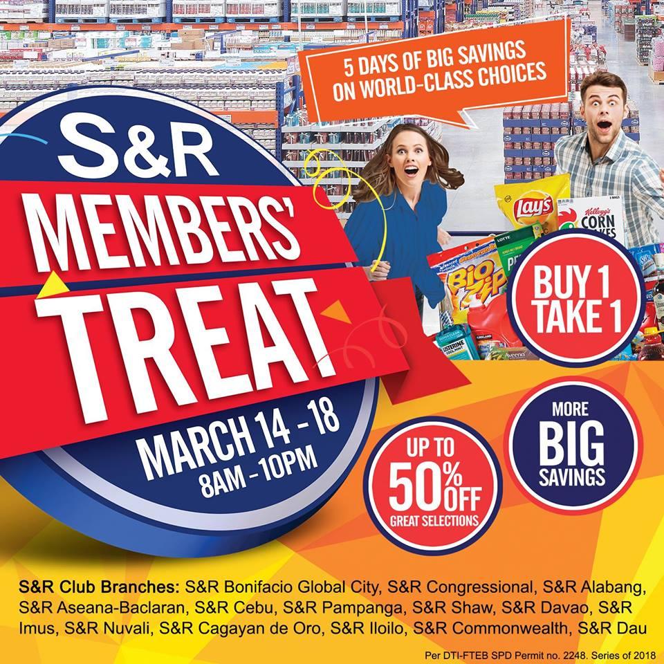 SnR Members Treat March 2018