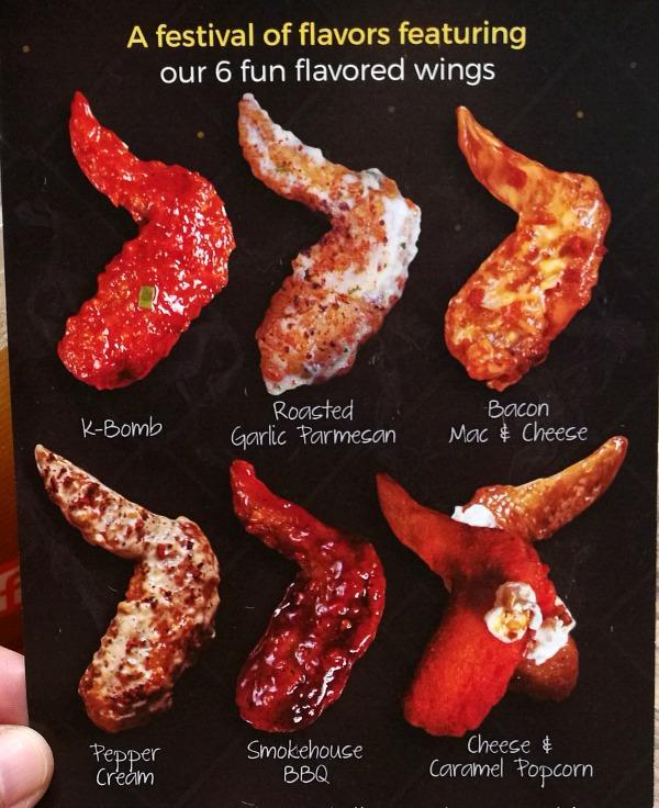 Birdhouse Wings Fun Flavors