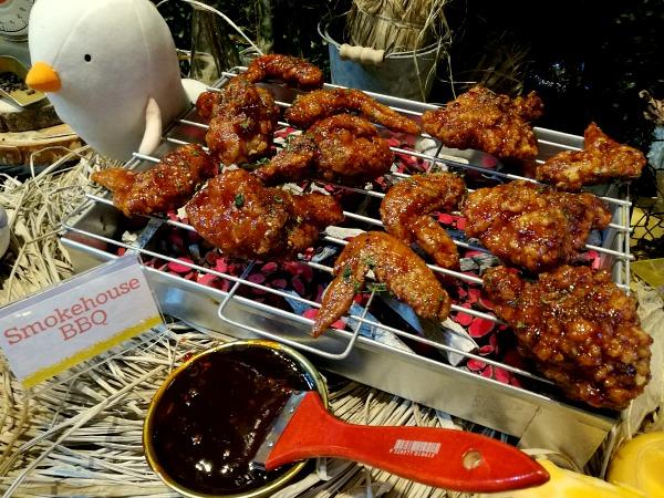 Birdhouse Smokehouse BBQ Wings