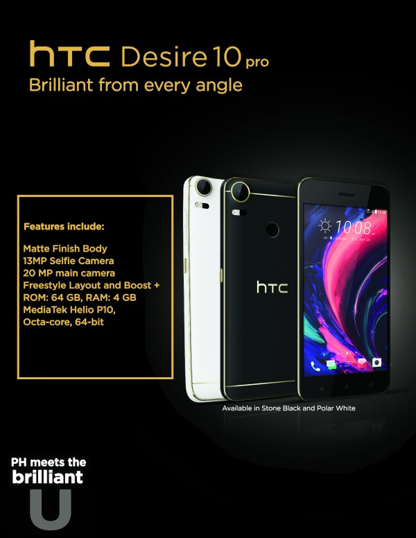 HTC DESIRE 10 PRO Poster