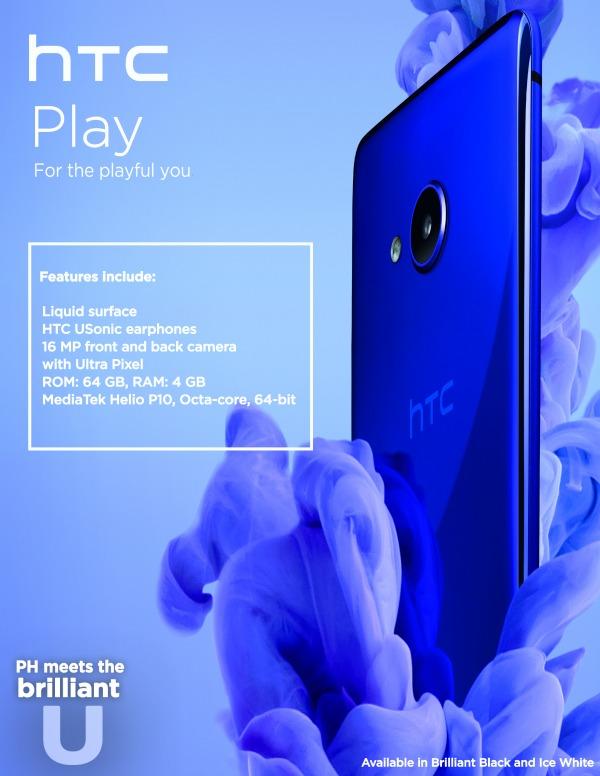 HTC U PLAY Poster