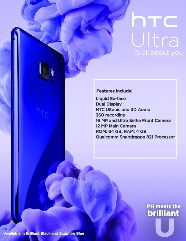 HTC U ULTRA Poster
