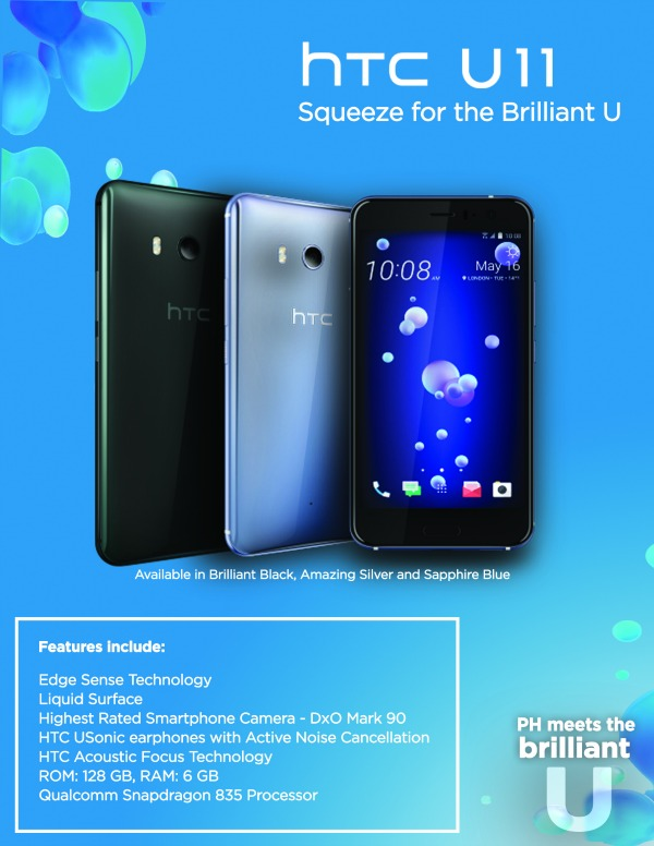 HTC U11 Poster