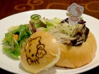 Hello Kitty Cafe Creamy Portobello Truffle Soup