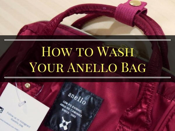 How to Wash Your Anello Bag