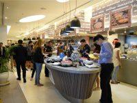 Novotel Asian Street Food Festival Buffet Area