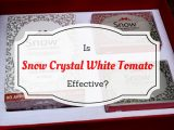Updated! Snow Crystal White Tomato Review: Is it Effective?