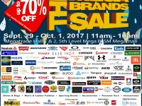 20th Megabrands Sale SM Megamall