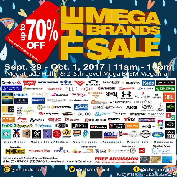 20th Megabrands Sale SM Megamall