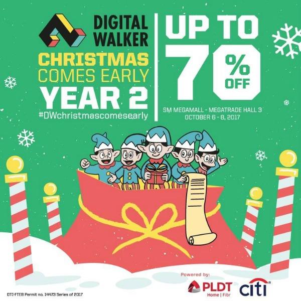 Digital Walker Christmas Comes Early 2017