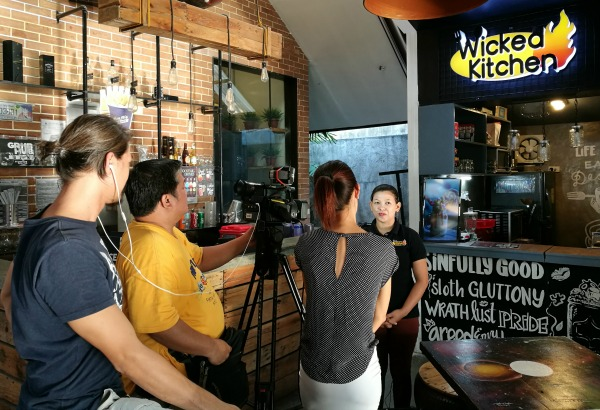 GMA Unang Hirit Behind the Scenes Wicked Kitchen