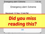 How to Recall Emergency Alert Broadcasts (Android)
