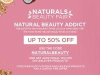 Lazada Naturals Beauty Fair