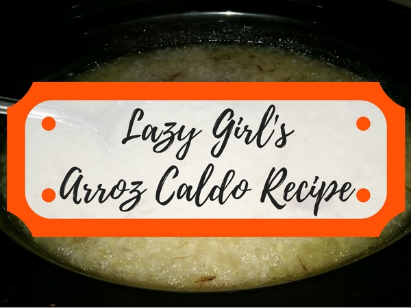 Lazy Arroz Caldo Recipe