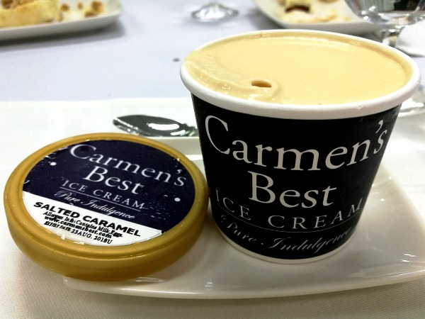 Philippine Airlines Business Class Menu Carmen's Best Ice Cream