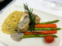 Philippine Airlines Business Class Menu Chicken Truffle