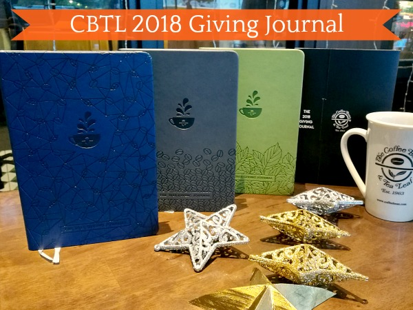 CBTL Giving Journal 2018