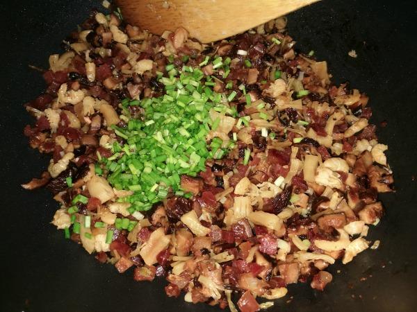 How to Make Radish Cake Cooking Filling
