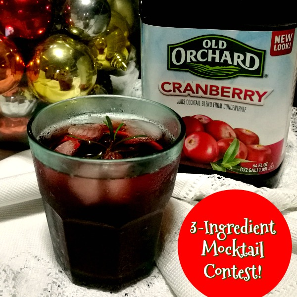 Old Orchard Cranberry Mocktail Poster