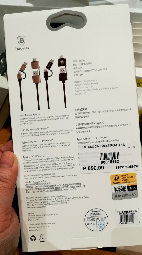 Baseus-Trinoma-5-in-1-multi-cable