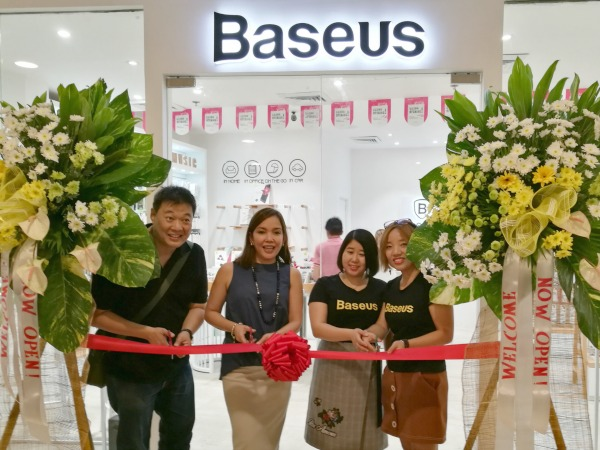 Baseus Trinoma Ribbon Cutting Opening
