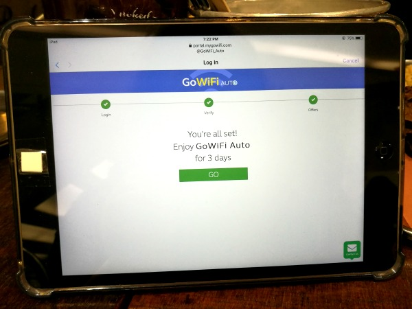 GoWiFi Auto Connected