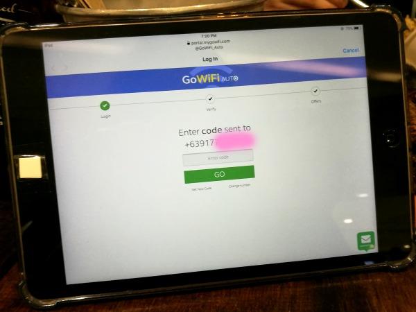 GoWiFi Auto Verification Code