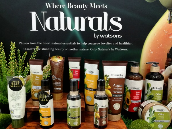 Naturals by Watsons Products