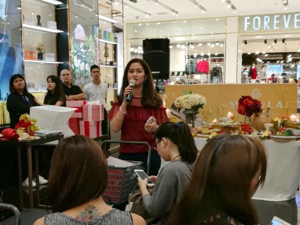SM Beauty Hop Holiday Sharon Decapia