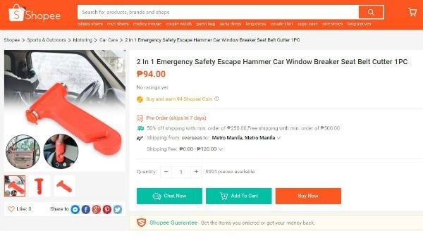 Car hammer