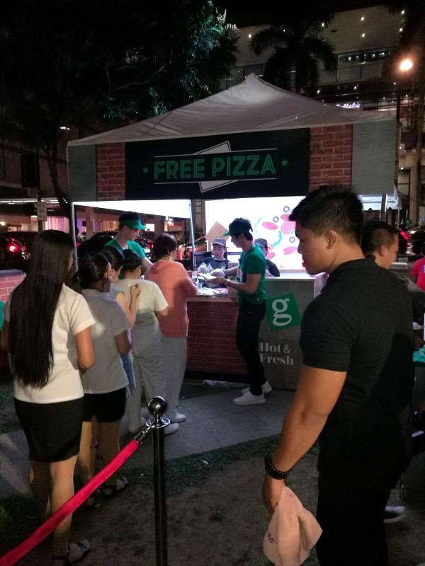 Greenwich Pizza Day 2018 FREE PIZZA