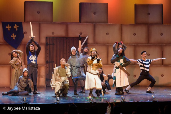 The Cast of Spamalot