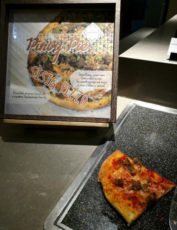 Novotel Manila Araneta Center Breakfast Buffet 2018 Sisig Pizza