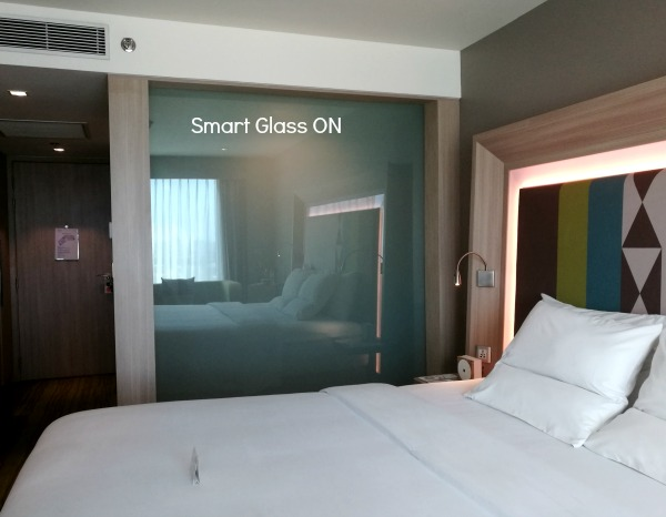 Novotel Manila Araneta Center Executive Room Smart Privacy Glass