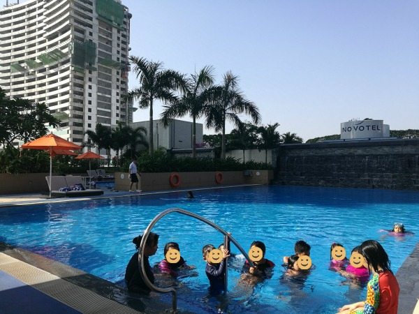 Novotel Manila Araneta Center Swimming Pool